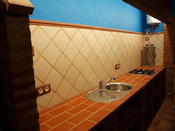 Reforma de una cocina campera c camino de la guija ciudad real ciudad real - Fregaderos ceramica rusticos ...