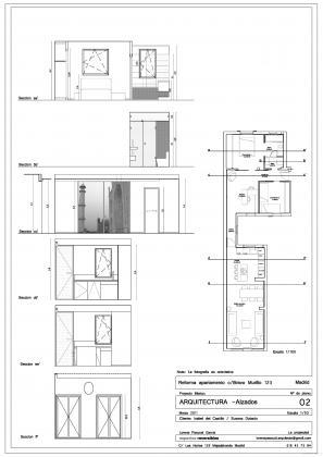 Reforma integral vivienda 80m2 bravo murillo madrid villanueva del pardillo madrid - Tabiques moviles vivienda ...