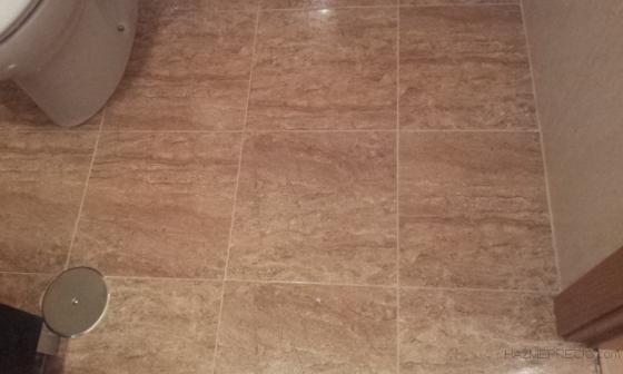 detalle solado baño