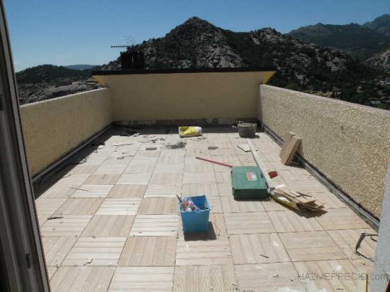 impermeabilizado y solado de terraza exterior transitable