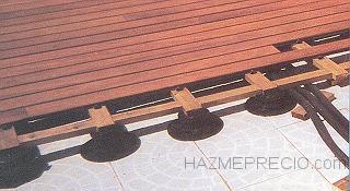 Colocacion terraza ipe 80 m2 barcelona for Cuanto vale poner tarima flotante en un piso