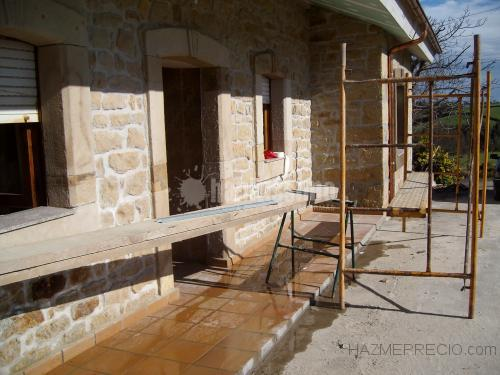Obra De Revestimiento De Fachada Ribadesellaasturias - Revestimiento-fachadas-piedra