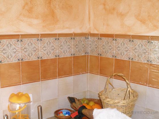 Ampliaci n y reforma de una casa de campo valverde del for Azulejos de cocina rusticos