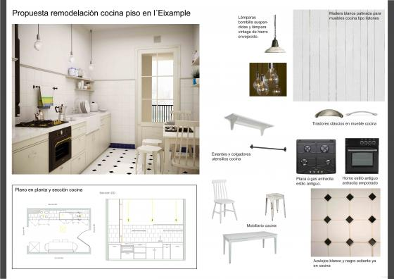 Reforma cocina eixample barcelona - Par ker porcelanosa precios ...