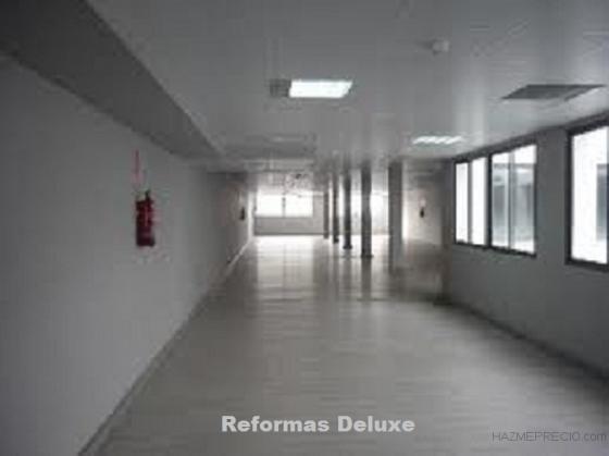colocacion de suelos gres mamparas divisorias techos sistema pintado de paredes