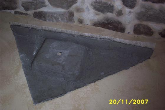 Creaci n de un lavabo en microcemento amoeiro ourense - Precio del microcemento ...