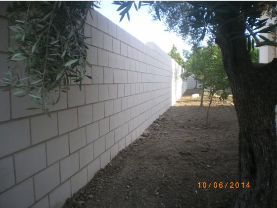 Muro de bloques de hormigon cara vista alcal de henares madrid - Muros de hormigon ...