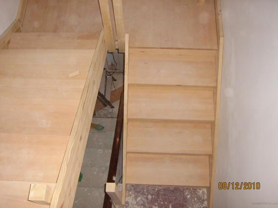 Reforma de tejado y fachada de vivienda con ampliacion de - Escalera para buhardilla ...