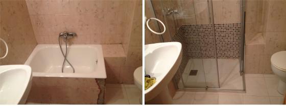Cambio de ba era por un plato de ducha laracha a a - Sustituir banera por ducha ...