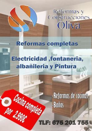 Reforma de cocina completa
