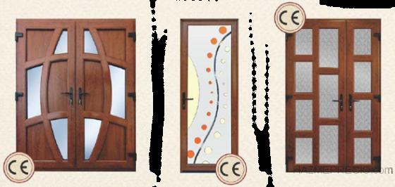 puertas de pvc de calidad alemana SALAMANDER