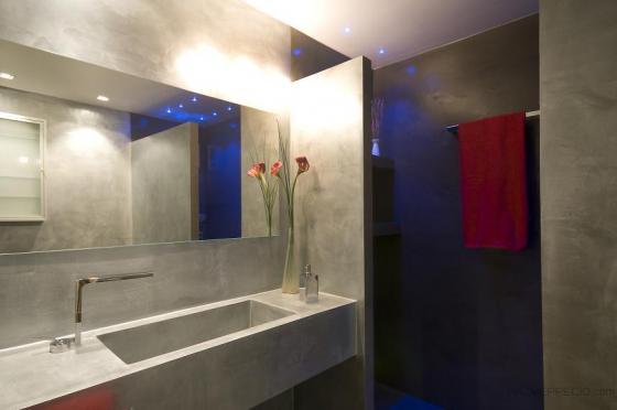 Reforma de baño pintura metalica