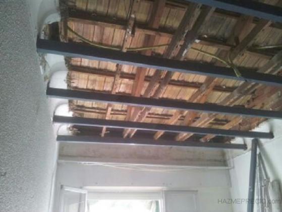 rehabilitación de techo antiguo en Santa Pola, Alicante