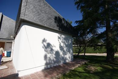 Realización de sistema de aislamiento termico de fachadas de Baumit (SATE)
