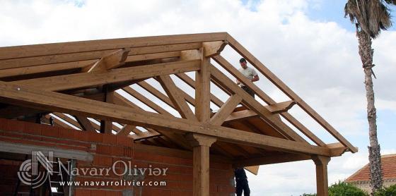 Navarrolivier 04610 cuevas del almanzora almeria - Estructuras de madera para techos ...