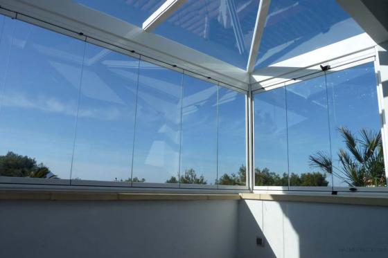 Visionglass 36161 pontevedra pontevedra for Cortina cristal terraza