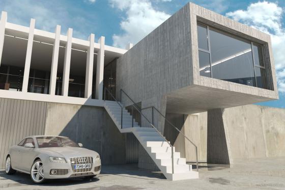 Ruben muedra estudio de arquitectura sl 46004 valencia - Viviendas tipo loft ...