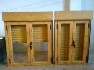 Refal 41930 bormujos sevilla for Ventanas de aluminio imitacion madera