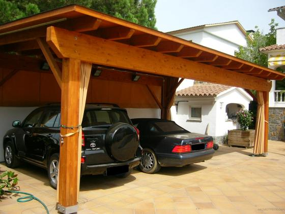 Pergola para coche interesting atencion with pergola para - Pergola para coche ...