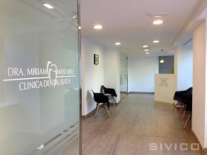 Diseño, proyecto y reforma integral de un local de 130 m2 en dos plantas para transformarlo en una clínica dental