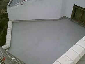 vista terraza acabada