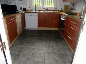 Remodelación cocina, aplicacion de microcemento en paredes y suelos