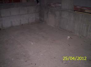 Limpieza de suelo y acondicionamiento del mismo.