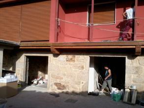 fachada de en fase final de rehabilitacion