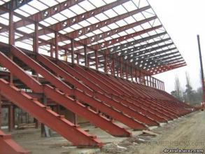 Estructura metalica campo deportes