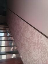 Tiro de escalera moderno.
