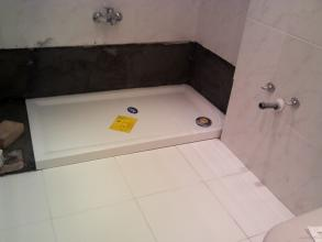 colocacion de plato de ducha