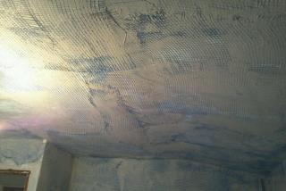 malla en paredes y techos