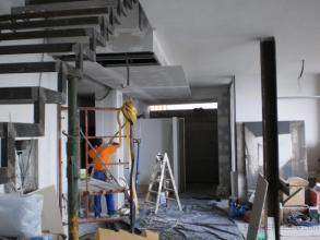 vista construccion falso techo