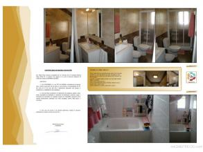 Aqui vemos como era antes el baño, y como ha quedado tras nuestra reforma por tán solo 2070€ mas Iva.
