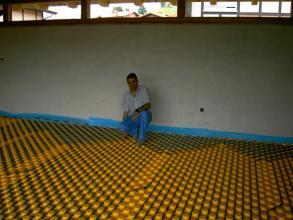 Instalación de Suelo Radiante con funcionamiento a gas natural y caldera de condensación Remeha , deposito de 200 litros de acumulación . Todo ello realizado por TECNAM especialistas en suelo radiante en Bibao .