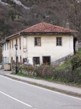 Fachada principal estado actual. Así se encontraba el aspecto de la fachada principal.