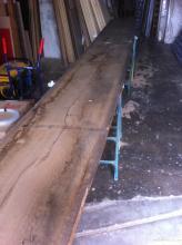 Selección de madera en este caso de roble borgonya