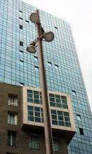 Imagen tomada desde la plaza de la convivencia, dentro de la urbanización.