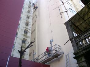 fachada a reparar